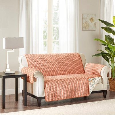 Madison Park Tissa Printed Loveseat Protector
