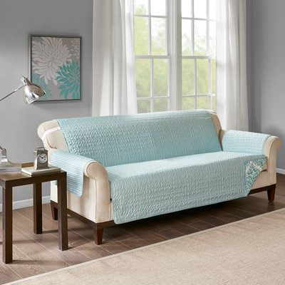 Madison Park Claire Printed Sofa Protector
