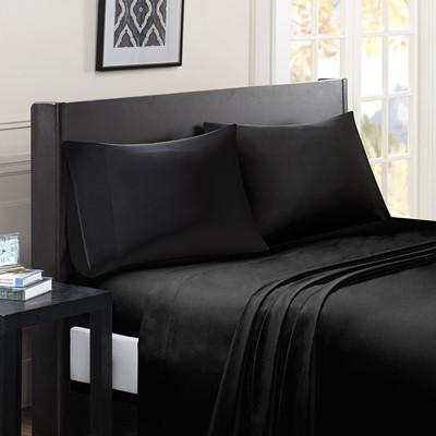 Madison Park Essentials Micro Splendor Ultra Soft Wrinkle Free Microfiber Sheet Set in Blue, Cal King SHET20-751