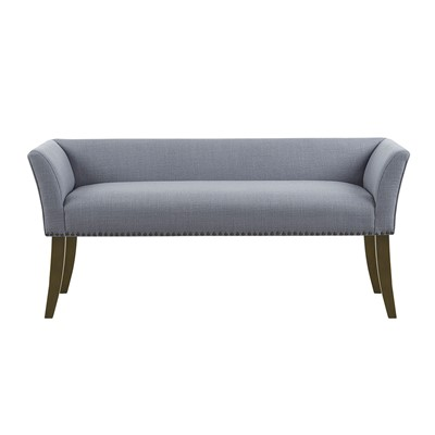 Madison Park Welburn Accent Bench in Blue MP105-0827